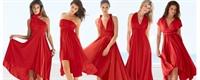 Kırmızı Elbise Modeller