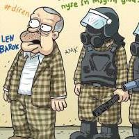Penguen Başbakan'ı Taksim'e Götürdü