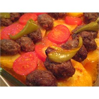 Fırında Köfte& Patates