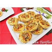Ayçekirdekli Mini Pizza