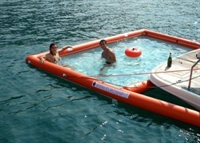 Tekneler İçin Şişme Yüzme Havuzu