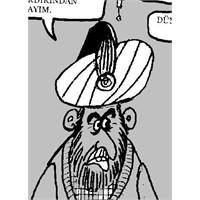 Kanuni Osmanli'yi Nasil Büyüttü-karikatür