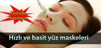 Evinizde Yüz Maskeleri Yapımı