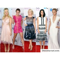People's Choice Ödülleri: Kırmızı Halı Kıyafetleri