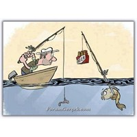 Resimlerde Ve Karikatürlerde Balıkçılık