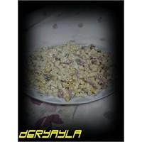 Leziz Mayonezli Makarna Salatası