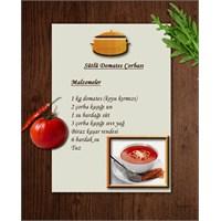 Sıcacık Bir Tarif Sütlü Domates Çorbası
