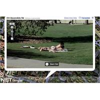 Google Street View'e yasak geldi