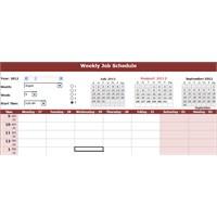 Haftalık İş Tanımı Excel Çalışması