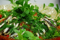 Karadeniz Usulü Hamsili Salata
