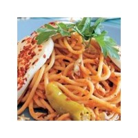 Peynirli Cevizli Spagetti