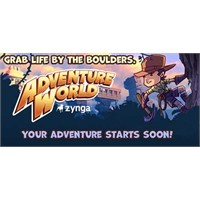 Zynga Yeni Sosyal Oyunu Adventure World'u Duyurdu