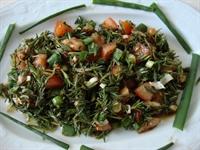 Zahter (kekik) Salatası