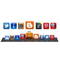 Sayfa Altında Sabit Sosyal Paylaşım Butonları