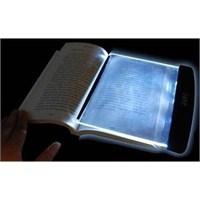 Led Okuma İşığı Ve Büyüteci
