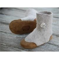 Evde Kolayca Yapabileceğiniz Bebek Ayakkabıları