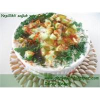 Bol Yeşillikli Soğuk Yaz Çorbası Ve İftar Menüsü-1