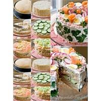 Sebzeli Ekmek Pasta