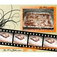 Tepside İslak Mozaik Pasta