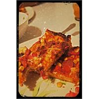 Karışık Pizza Bir Çiçek Bir Etkinlik