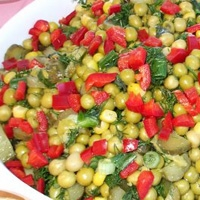 Bezelye Salatası !