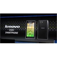 İşte İntel'in Cep Telefonu: Lenova K800!