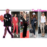 Trend Raporu : Şeritli Pantolonlar