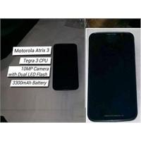 Motorola Atrix 3 Sonunda İnternete Sızdı