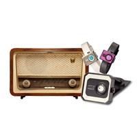 Klasik Radyo Dizaynı Tacs Chanel Saatlerde