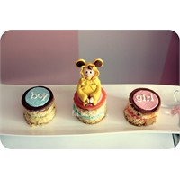 Pink Boutique Bakery Baby Shower Mini Pastalar