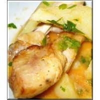 Leziz Patatesli Tavuk Yemeği