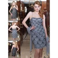 First Lady Gri Renk Abiye Elbise Modelleri