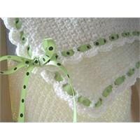 Örgü Bebek Battaniye Modeli ve Anlatımı