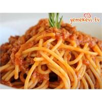 Spagetti Bolonez Nasıl Yapılır?