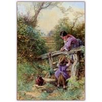 İngiliz Ressam | Myles Birket Foster (1825 - 1899)