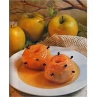 Fırında Vanilyalı Elma