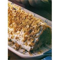 Balkabaklı Piramit Pasta Tarifi