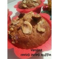Cevizli İncirli Muffin