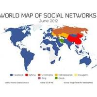 Sosyal Ağların Dünyadaki Dağılımı