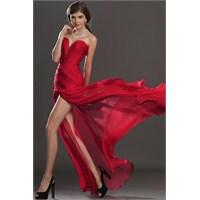 En İddialılar : Kırmızı Abiye Elbiseler