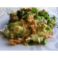 Buğdaylı Kabak Salatası
