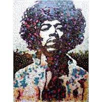 Penalardan Yapılmış Jimi Hendrix