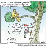 Erdil Yaşaroğlu'ndan Birkaç Karikatür-5