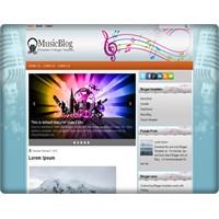 Musicblog Blogger Teması (Free Blogger Themes)
