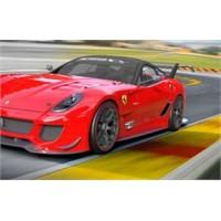 Aktif Aerodinamik Yapıya Sahip Ferrari 599xx