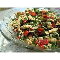 Tavuk Salatası Yapılışı