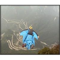 Çin'de Wingsuit İle Atlama