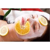 Limonlu Cilt Bakımı Maskeleri