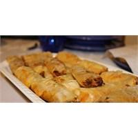 Fazlıkızından Sivribiberli& Mercimekli Börek