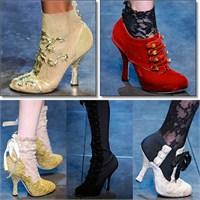 Dolce Gabbana Sonbahar Kış 2012-2013 Ayakkabıları